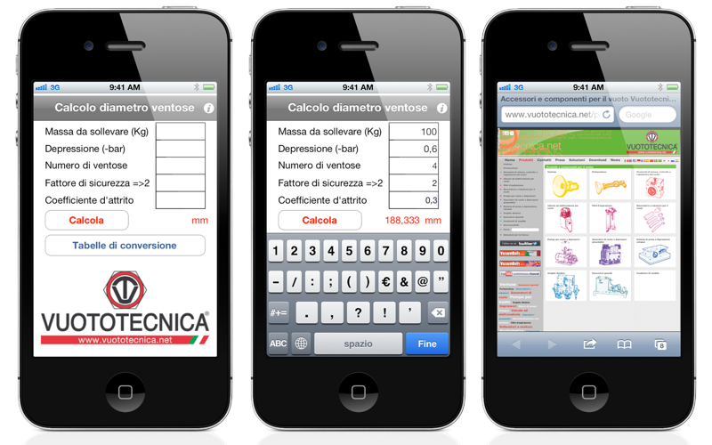 VTCalc per iPhone e iPad